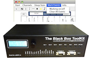 The 72 channel mBBTK is used for event marking in EEG, ERP and eye-tracking or anywhere TTL event marks are need to be millisecond accurate. Independently event marks on up to 24 bits when paired with optical input, mics, response pads and other TTL inputs. Can now be used without a PC!